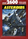 Asteroids Atari 2600 Front Cover