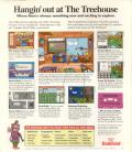 The Treehouse DOS Back Cover