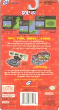 Golf Game Boy Advance Back Cover