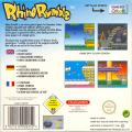 Rhino Rumble Game Boy Color Back Cover