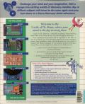 Castle of Dr. Brain DOS Back Cover