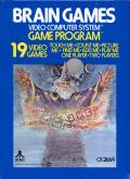 Brain Games Atari 2600 Front Cover