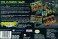 Battletoads & Double Dragon: The Ultimate Team SNES Back Cover