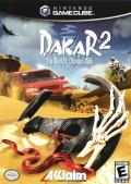Dakar 2: The World's Ultimate Rally GameCube Front Cover