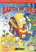 The Simpsons: Bart vs. the World NES Front Cover