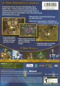 Baldur's Gate: Dark Alliance II Xbox Back Cover