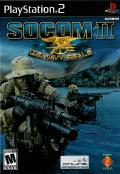 SOCOM II: U.S. Navy SEALs PlayStation 2 Front Cover