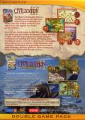 Sid Meier's Civilization III (Gold Edition) Windows Back Cover