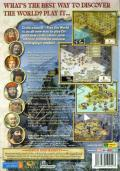 Sid Meier's Civilization III (Gold Edition) Windows Other Keep Case - Back - Play the World