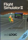 Flight Simulator II Commodore 64 Front Cover