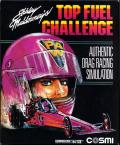 Shirley Muldowney's Top Fuel Challenge Commodore 64 Front Cover