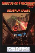 Rescue on Fractalus! Commodore 64 Front Cover