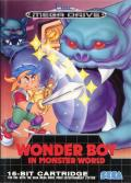 Wonder Boy in Monster World Genesis Front Cover