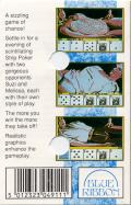 Strip Poker: A Sizzling Game of Chance Commodore 64 Back Cover