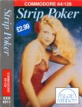 Strip Poker: A Sizzling Game of Chance Commodore 64 Front Cover