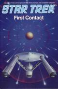 Star Trek: First Contact DOS Front Cover