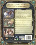 Baldur's Gate II: Shadows of Amn Windows Back Cover