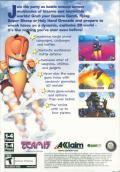 Worms 3D Windows Back Cover