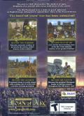Wars and Warriors: Joan of Arc Windows Back Cover