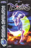 NiGHTS into Dreams... SEGA Saturn Front Cover