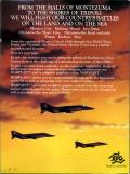 Halls of Montezuma: A Battle History of the United States Marine Corps Commodore 64 Back Cover