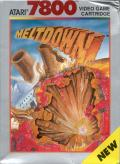 Meltdown Atari 7800 Front Cover