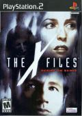 The X-Files: Resist or Serve PlayStation 2 Front Cover