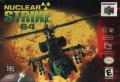 Nuclear Strike Nintendo 64 Front Cover