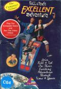 Bill & Ted's Excellent Adventure Commodore 64 Front Cover
