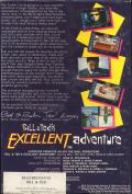 Bill & Ted's Excellent Adventure Commodore 64 Back Cover