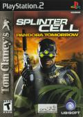 Tom Clancy's Splinter Cell: Pandora Tomorrow PlayStation 2 Front Cover