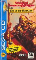Eye of the Beholder SEGA CD Front Cover