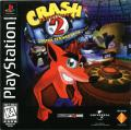 Crash Bandicoot 2: Cortex Strikes Back PlayStation Front Cover
