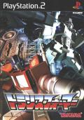 Transformers PlayStation 2 Front Cover