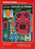 TRON: Maze-A-Tron Intellivision Front Cover