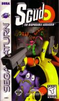 Scud: The Disposable Assassin SEGA Saturn Front Cover