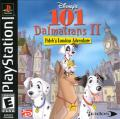 Disney's 101 Dalmatians II: Patch's London Adventure PlayStation Front Cover