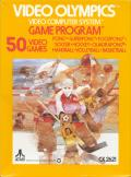 Video Olympics Atari 2600 Front Cover