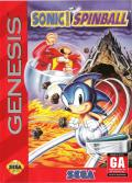 Sonic the Hedgehog: Spinball Genesis Front Cover