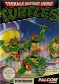 Teenage Mutant Ninja Turtles NES Front Cover