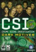 CSI: Crime Scene Investigation - Dark Motives Windows Front Cover