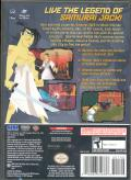 Samurai Jack: The Shadow of Aku GameCube Back Cover