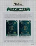 Clean Sweep Vectrex Back Cover