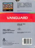 Vanguard Atari 2600 Back Cover