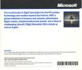 Microsoft Flight Simulator 98 Windows Other Jewel Case - Back Cover