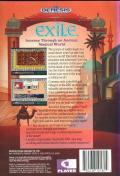 Exile Genesis Back Cover