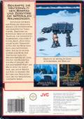 Star Wars: The Empire Strikes Back NES Back Cover