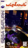 WipEout SEGA Saturn Front Cover
