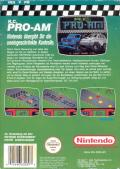 R.C. Pro-Am NES Back Cover