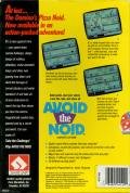 Avoid the Noid DOS Back Cover